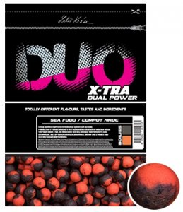 LK Baits Boilie Duo X-Tra Sea Food/Compot NHDC-1 kg 24 mm