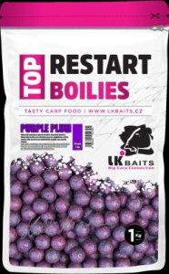 LK Baits Boilie Top ReStart Purple Plum-1 kg 18 mm