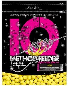 LK Baits Boilie IQ Method Feeder Fluoro 600 g 10/12 mm-citrus