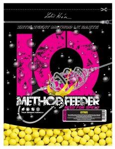 LK Baits Boilie IQ Method Feeder Fluoro 600 g 10/12 mm-cherry