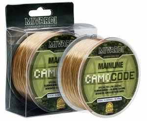 Mivardi Vlasec CamoCode Mainline Camo 600 m-Průměr 0,355 mm / Nosnost 12,60 kg