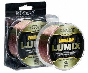 Mivardi Vlasec Lumix Mainline Camo 600 m-Průměr 0,385 mm / Nosnost 14,50 kg