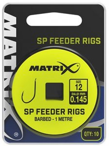 Matrix Návazec SP Feeder Rigs 1 m 10 ks-Velikost Háčku 18