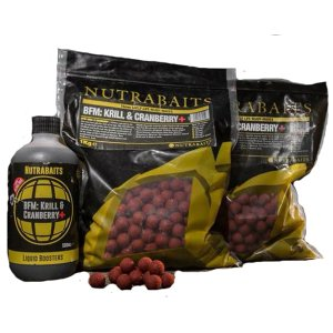 Nutrabaits Boilies BFM Krill&Cranberry-400 g 15 mm