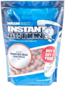 Nash Boilies Instant Action Monster Crab-1 kg 15 mm