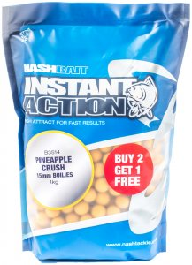 Nash Boilies Instant Action Pineapple Crush-2,5 kg 15 mm