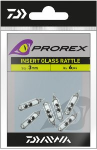 Daiwa Prorex Rolničky Skleněné Do Gumy-Velikost 7 mm 5 ks