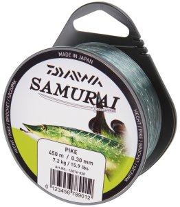 Daiwa Vlasec Samurai Štika-Průměr 0,40 mm / Nosnost 12,4 kg / Návin 250 m