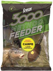 Sensas Krmení 3000 Method Feeder 1 kg-carpe