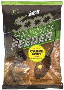 Sensas Krmení 3000 Method Feeder 1 kg-carpe spicy