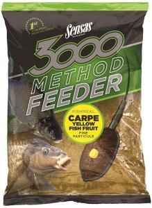 Sensas Krmení 3000 Method Feeder 1 kg-carpe yellow