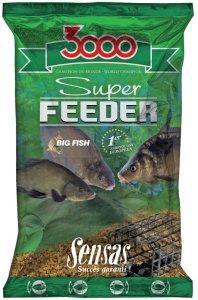 Sensas Krmení 3000 Super Feeder New 1 kg-river