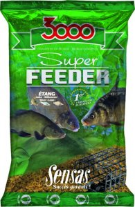 Sensas Krmení 3000 Super Feeder 1kg-carp