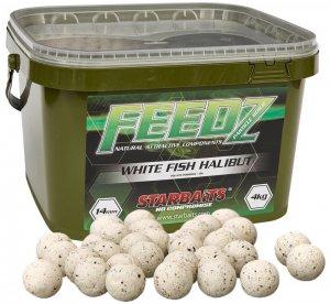 Starbaits Boilies Feedz 20 mm 4 kg-white fish pellets