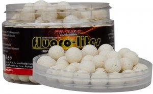 Starbaits Pop Up Boilie Fluoro Lite 10 mm 60 g-bílá