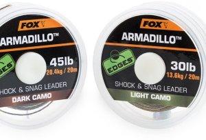 Fox Návazcová Šňůrka Armadillo 65 lb Camo 29,5 kg 20 m-Light Camo
