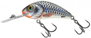 Salmo Wobler Rattlin Hornet Floating Silver Holographic Shad-4,5 cm 6 g