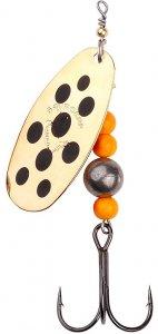 Savage Gear Třpytka Caviar Spinner Gold-Velikost 4 14 g