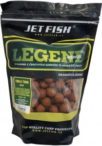 Jet Fish Boilie Legend Range Chilli Tuna Chilli -200 g 12 mm