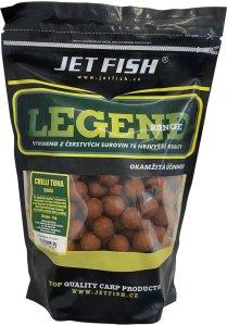 Jet Fish Boilie Legend Range Chilli Tuna Chilli -1 kg 24 mm