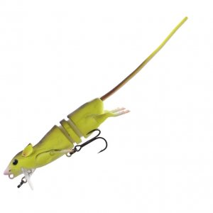 Savage Gear 3D Krysa Fluo Yellow-30 cm 90 g