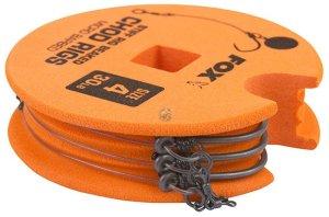 Fox Hotový Návazec Edges Stiff Chod Rig Standard 3 ks -Velikost 4 / Nosnost 30 lb