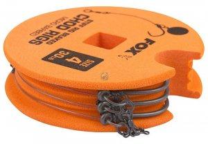 Fox Hotový Návazec Edges Stiff Chod Rig Standard 3 ks -Velikost 8 / Nosnost 25 lb
