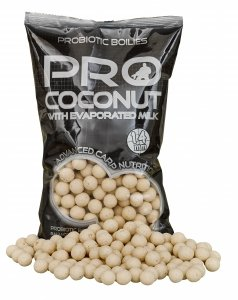 Starbaits Boilie Probiotic Coconut-14 mm 2,5 kg