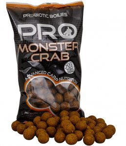 Starbaits Boilie Probiotic Monster Crab-20 mm 1 kg