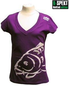 R-SPEKT Tričko Lady Carper fialové-Velikost L