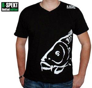 R-SPEKT Tričko Carper černé-Velikost S