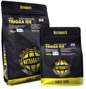 Nutrabaits Trvanlivé boilie Trigga Ice 15 mm-1 kg
