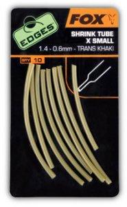Fox Smršťovací Hadička Edges Shrink Tube Trans Khaki-Průměr 1,8-0,7 mm