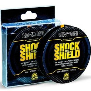 Mivardi Vlasec Shock&Shield-Průměr 1,00 mm / Nosnost 58,35 kg / Návin 20 m