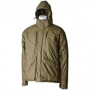 Trakker Vodělodolná zimní bunda Elements Jacket Zelená-M