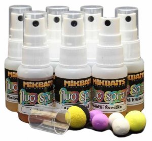 Mikbaits Fluo Spray 30 ml-zrajíci banán
