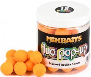 Mikbaits Plovoucí Boile Fluo 250 ml 18 mm-Máslová Hruška
