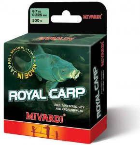 Mivardi Vlasec Royal Carp Brown 5000 m-Průměr 0,285 mm  / Nosnost 9,9 kg