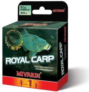Mivardi Vlasec Royal Carp Brown 5000 m-Průměr 0,255 mm / Nosnost 8,3 kg