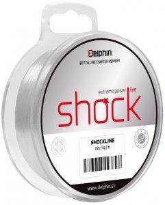 Delphin Vlasec Shock Line 80 m-Průměr 0,50 mm / Nosnost 33 lb