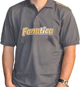 Mikbaits Pánská polokošile Fanatica - šedá-Velikost  XL