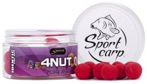 Sportcarp Plovoucí boilies Identic Pop Up 150 ml 15 mm-4nut plum jam