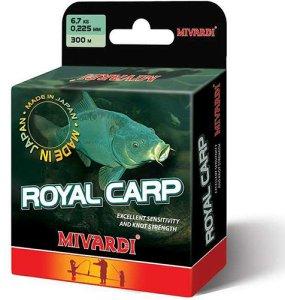 Mivardi  Vlasec Royal Carp Brown 300 m-Průměr 0,285 mm / Nosnost 9,9 kg