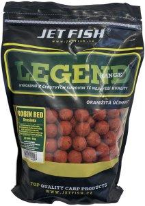 Jet Fish Boilie LEGEND Robin red + A.C. brusinka-200 g 12 mm