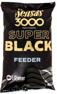 Sensas krmení  3000 SUPER BLACK 1kg-Feeder