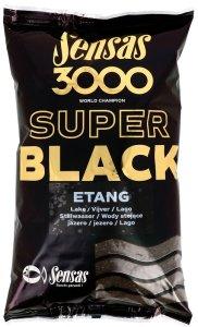 Sensas krmení  3000 SUPER BLACK 1kg-Etang