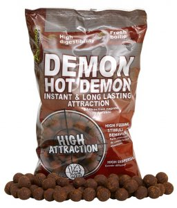 Starbaits Boilies Hot Demon -14 mm / 1 kg