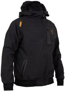 Fox Mikina Collection black/orange shell hoody-Velikost S