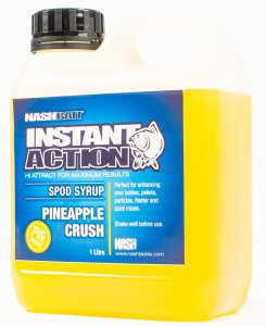 Nash Syrup Instant Action Spod Syrups Pineapple Crush 1 l
