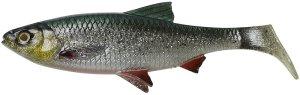 Savage Gear Gumová Nástraha 4D LB River Roach Green Silver UV-18 cm 70 g